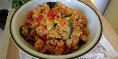 Gemüse mit Couscous