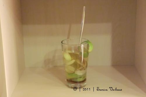 Birne-Limetten Tee