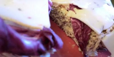Belegtes Buchweizen-Dinkel-Brot