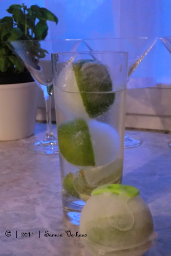 Limetten Eiskugeln