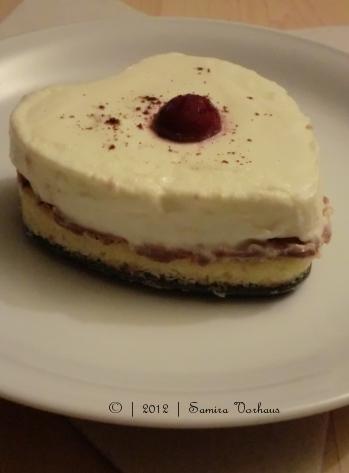 Joghurt-Parfait-Schnitte