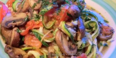 Zucchini-Nudeln