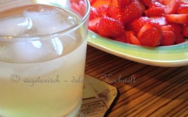 IceTea - GrünerMinztee mit Zitrone
