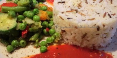 ital. Gemüse mit Reis
