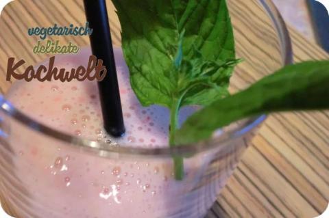Erdbeer-Bananen-Shake