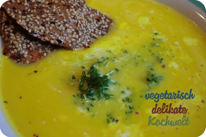 Suppe (Möhre-Ingwer-Kokos)