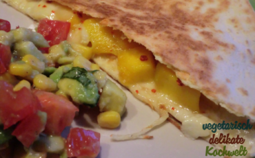 Mango-Käse-Quesadillas