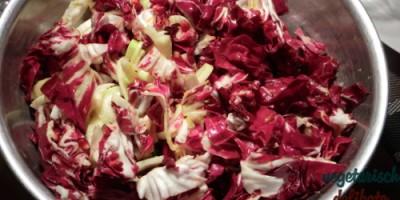 Radicchiosalat mit Granatapfel