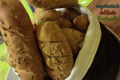 Vorspeise Brotkörbchen