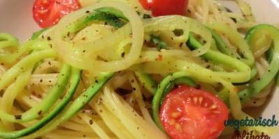 Zucchini-Nudeln II