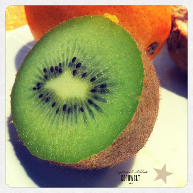 Kiwi zum Frühstück