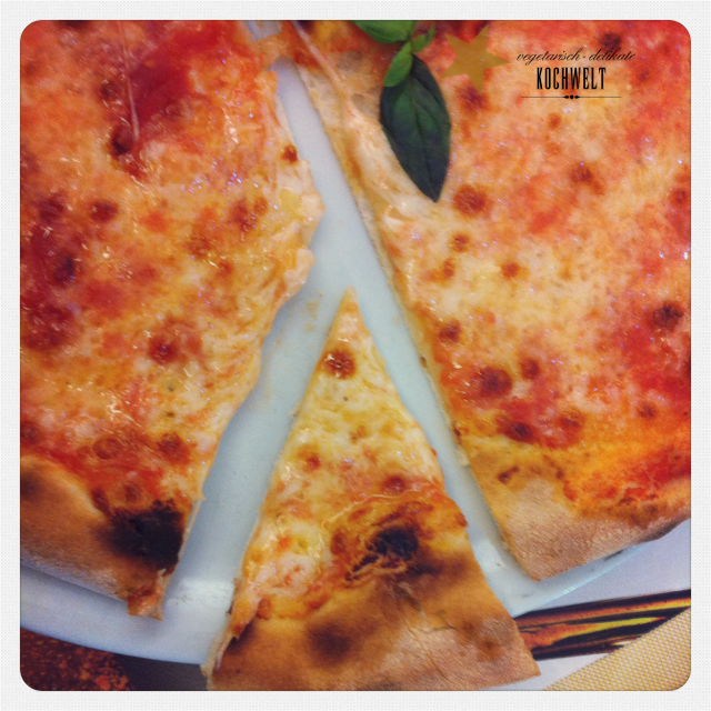 Aber die Pizza war auch schon echt lecker!