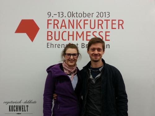 Angekommen auf der Frankfurter Buchmesse 2013
