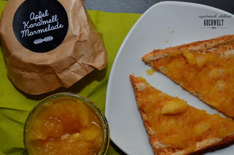 Apfel-Karamel-Marmelade