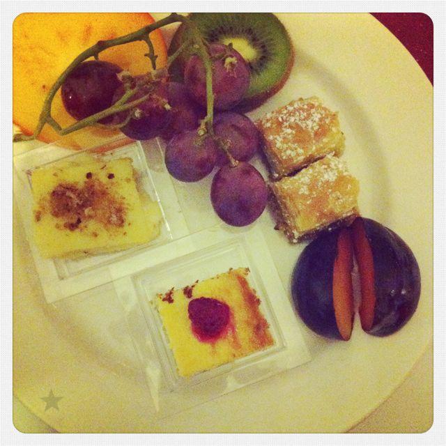 Essen auf der Uni-Abschluss-Feier