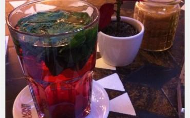 Himbeer-Minz-Tee