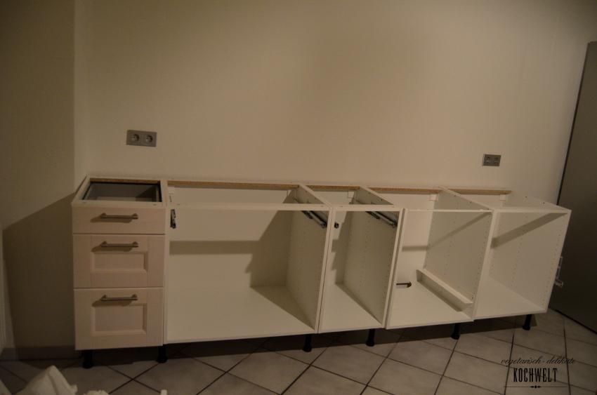 meine Küche noch bevor wir sie nutzen könnten