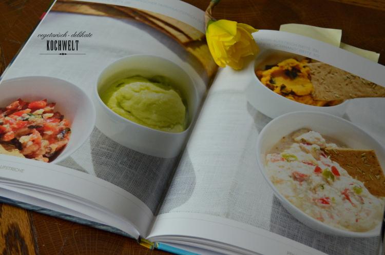 Cashew-Schmand und Avocadocreme aus dem Buch Brotaufstriche - vegan und vollwertig