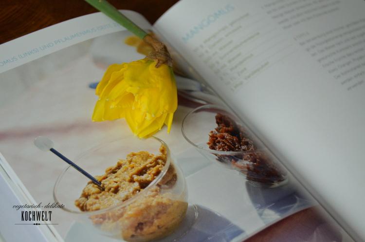 Mangomus aus dem Buch Brotaufstriche - vegan und vollwertig