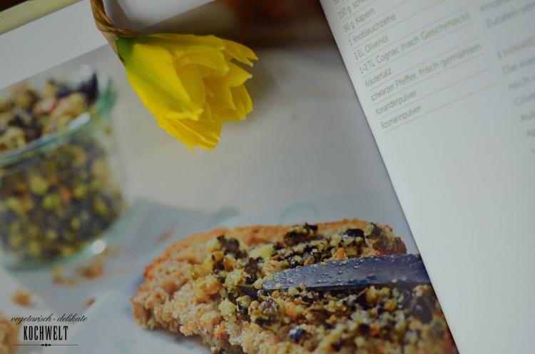Tapenade aus dem Buch Brotaufstriche - vegan und vollwertig