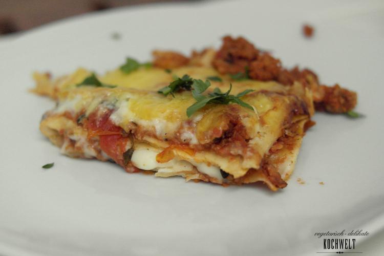 vegetarische-Lasagne-auf-dem-Teller