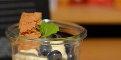 Beeren-Espresso-Quarkspeise