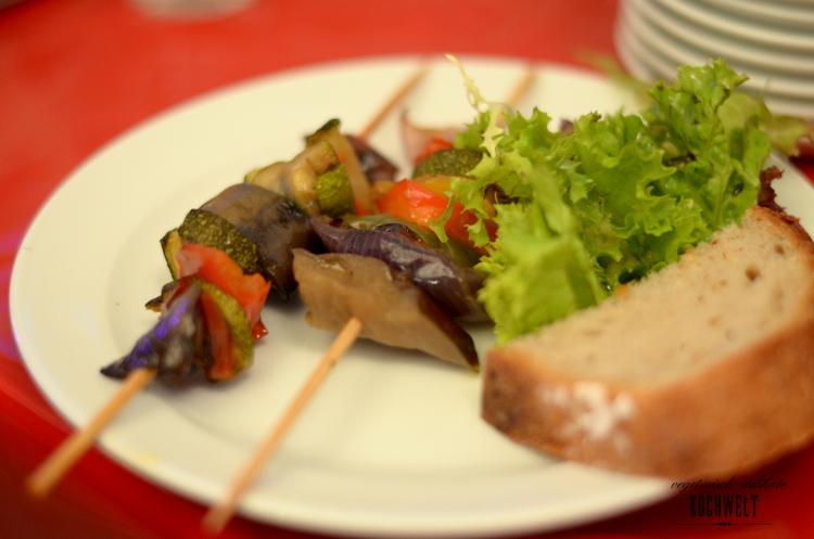 GDS - Gemüsespieße