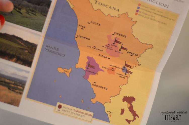 GDS Karte des Weinhandels