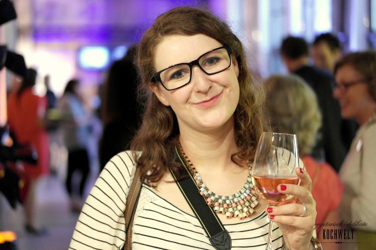Das bin ich - mit Wein :-)
