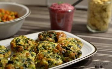 Frittata mit Spinat und Erbsen III