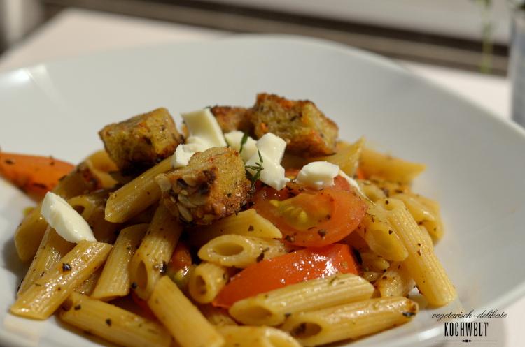 Nudeln mit dem italian allrounder von justspices
