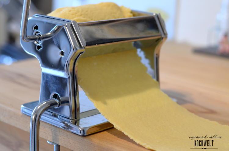 selbstgemachte Lasagneplatten