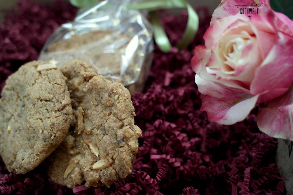 Schokoladen-Mandel-Cookies und die Kochwelt wird 4 Jahre