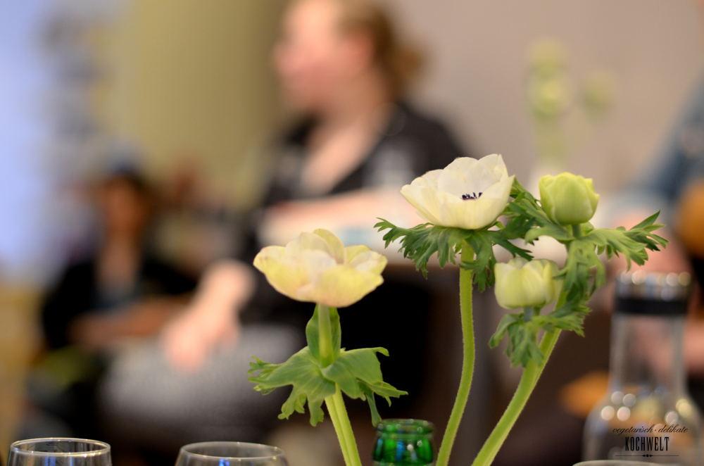 Hamburg - Dumont Verlag - Kochveranstaltung - Blumen
