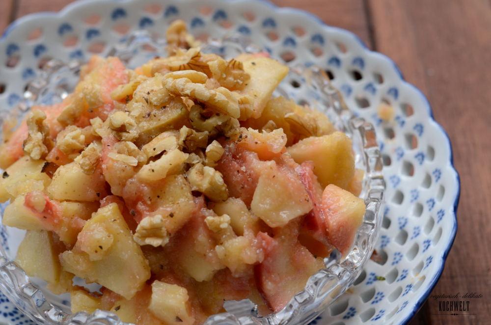Obst-Gries für die Frühstücksbox