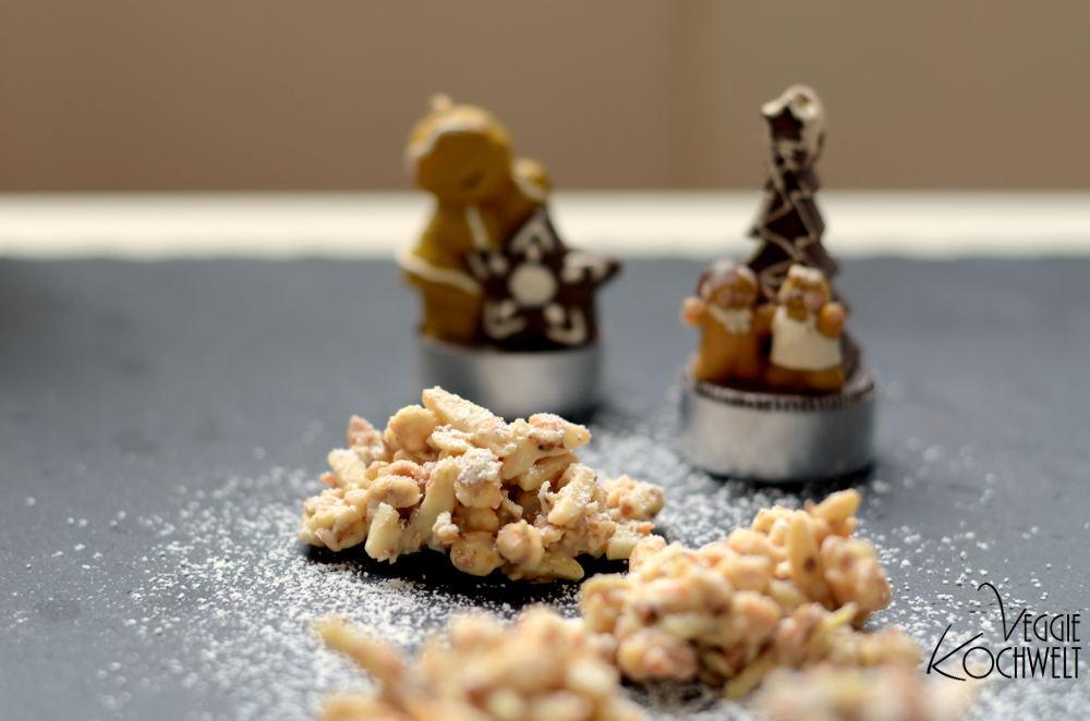 weißer Lebkuchen-Schoko-Crunch