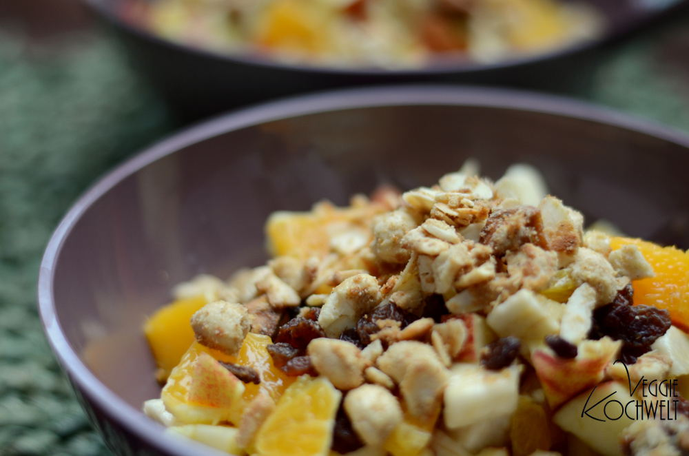 Wintermüsli mit Apfel-Nuss