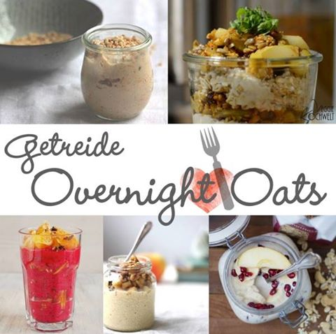 Mädchenküche Overnight Oats