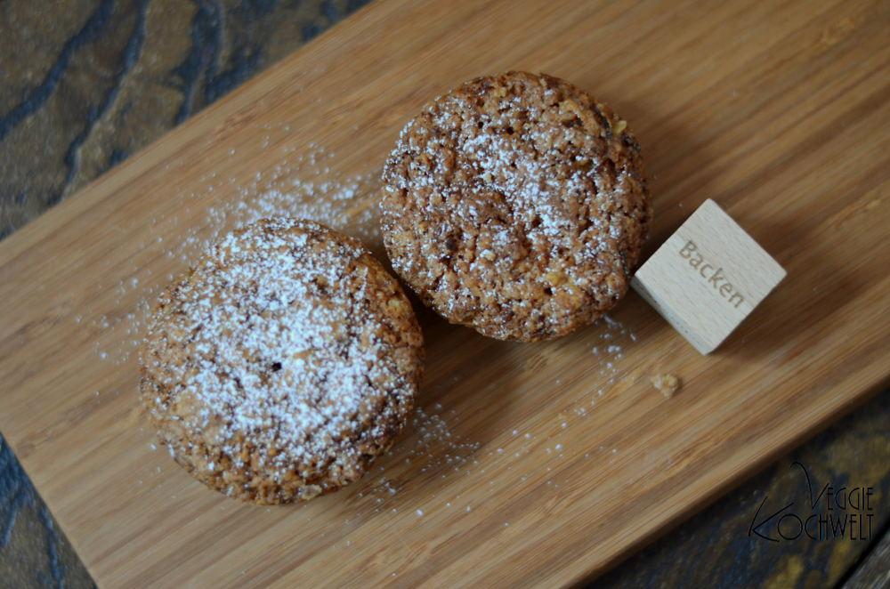 Walnuss-Möhrenmuffins