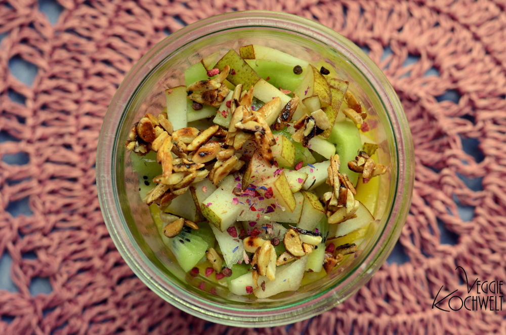 Chia-Pudding mit Mangopüree