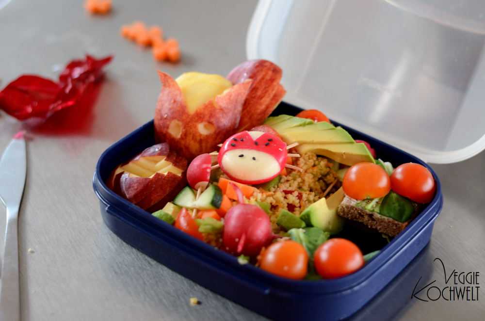 Coole LunchBox füllen 2016