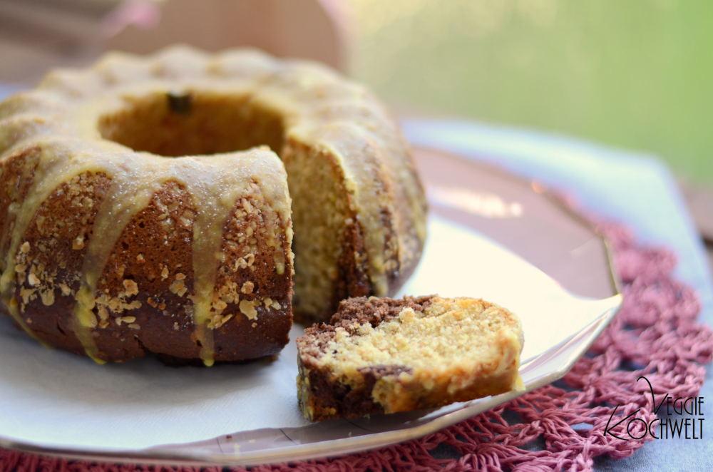 Zitronen-Marmor-Kuchen