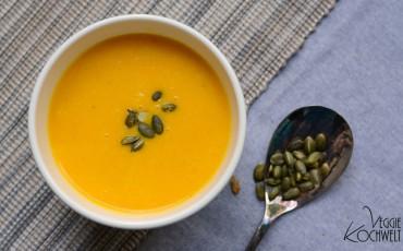 Möhren Ingwer-Suppe
