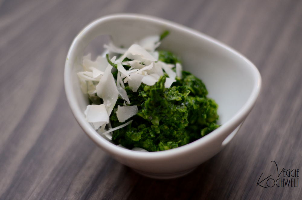 Petersilien-Rucola-Chutney