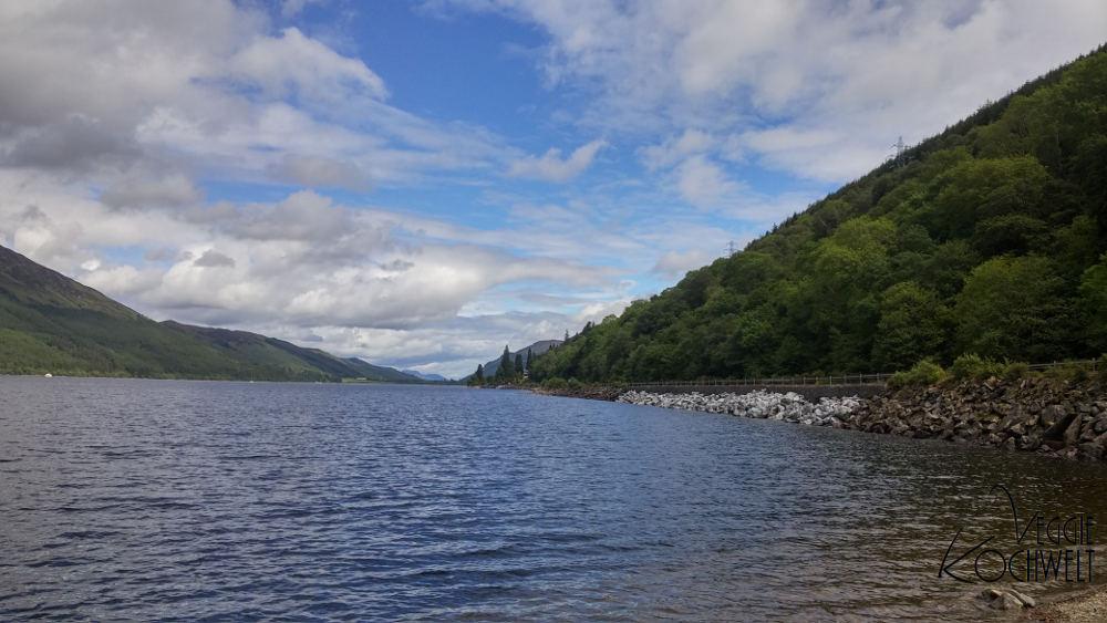 Rundreise 2017 - Loch Oich, Schottland
