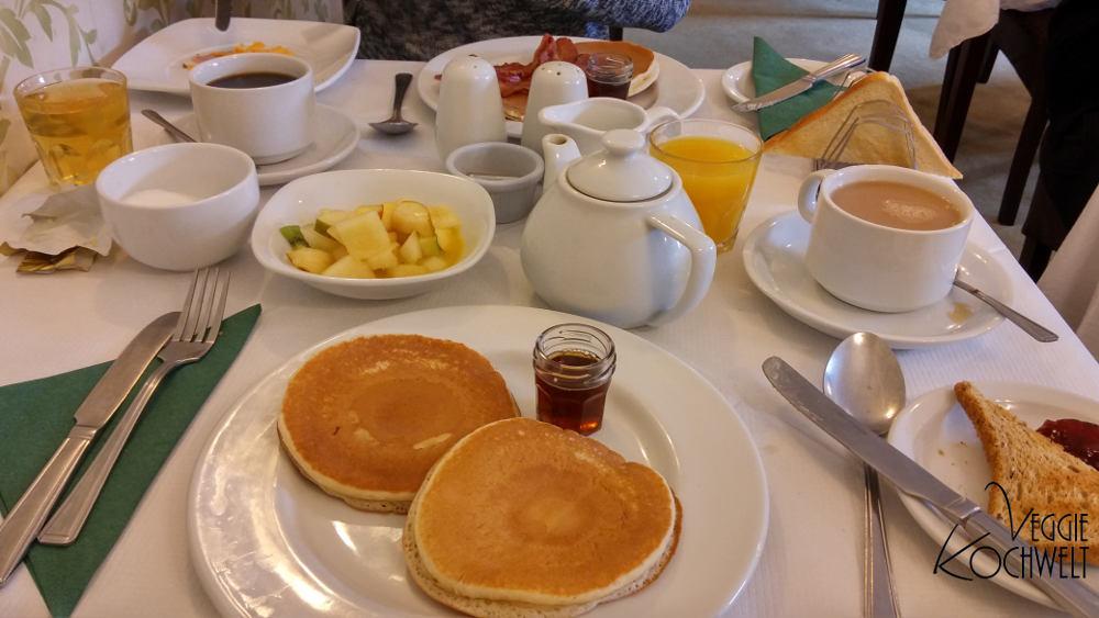Rundreise 2017 - Lochaiort Inn, Frühstück, Schottland