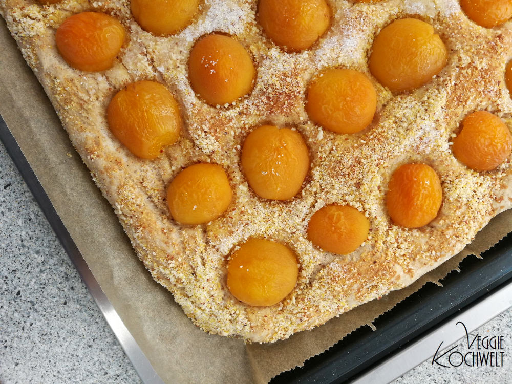 Aprikosenpizza - Kochbuch  - Mediterrane Küche – Genuss und Chance für Ihr Herz