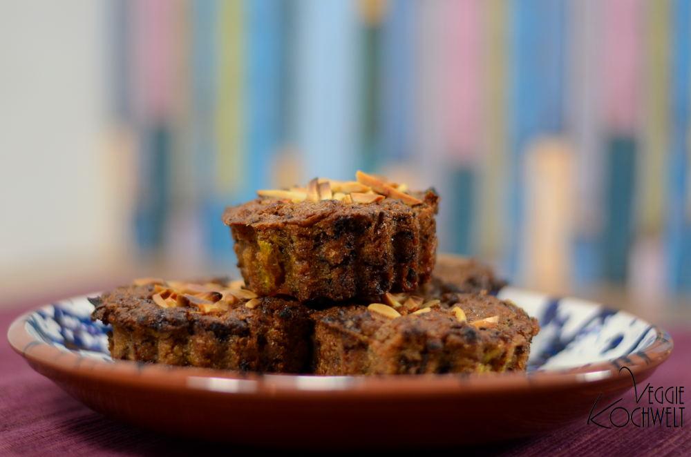Kürbisküchlein mit Schokolade