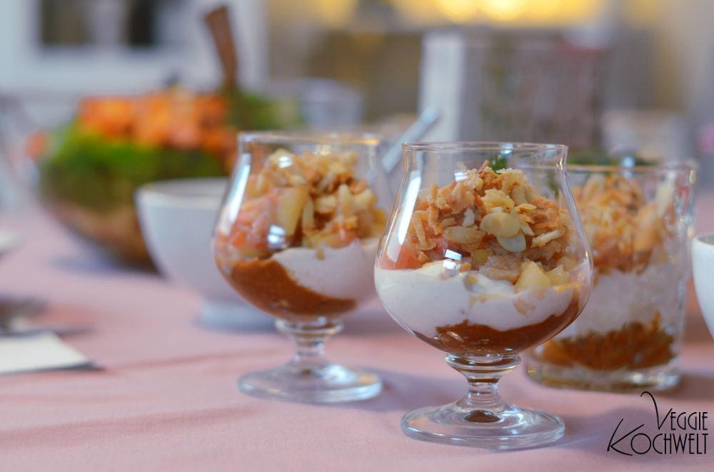 Bratapfel-Schicht-Dessert