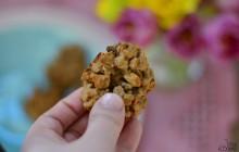 Hafer-Erdnuss-Cookies